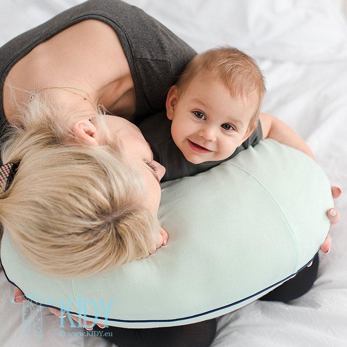 Žalia maitinimo pagalvė (Lullalove) 2
