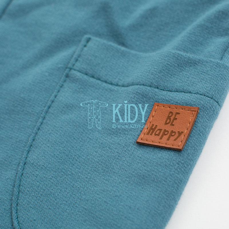 Turquoise HAPPY LLAMA pants (Pinokio) 2