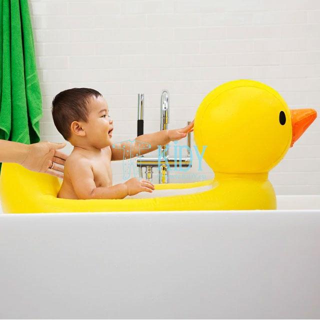 Pripučiama vonelė – antytė White Hot® Duck Tub (Munchkin) 2