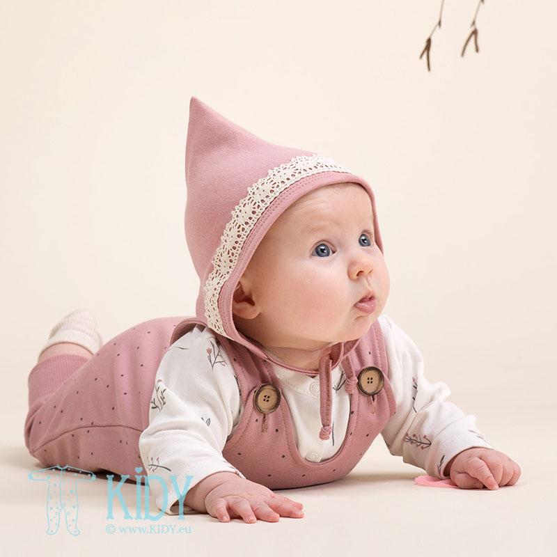 Rožinė kepurė PETIT LOU (Pinokio) 2
