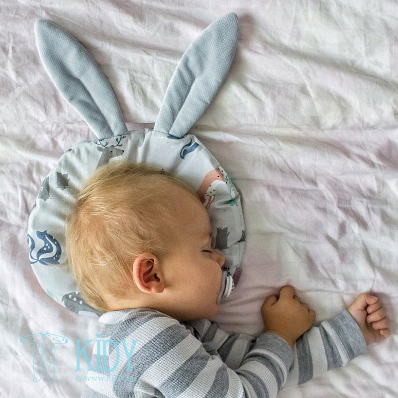 Pilka pagalvė Woodland su ausimis (MAKASZKA) 2