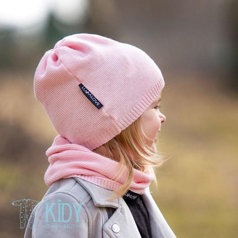 Pink snood