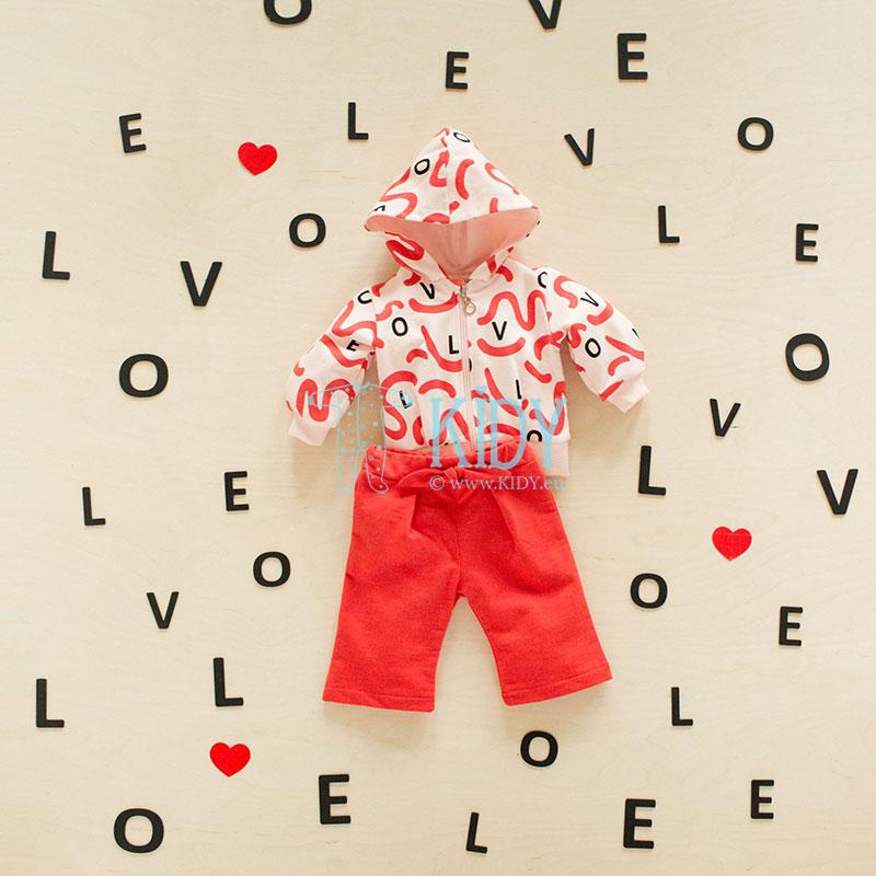 Rožinis džemperis LOVE & LOVE (Pinokio) 2
