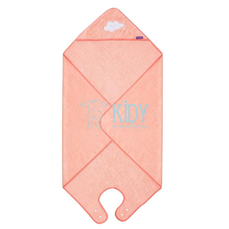 Rožinis rankšluostis su gobtuvu SPLASH & WRAP (ClevaMama) 2