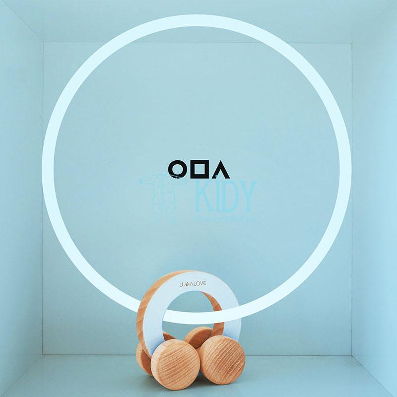 Medinė mašinėlė - ratas ODA (Lullalove) 2