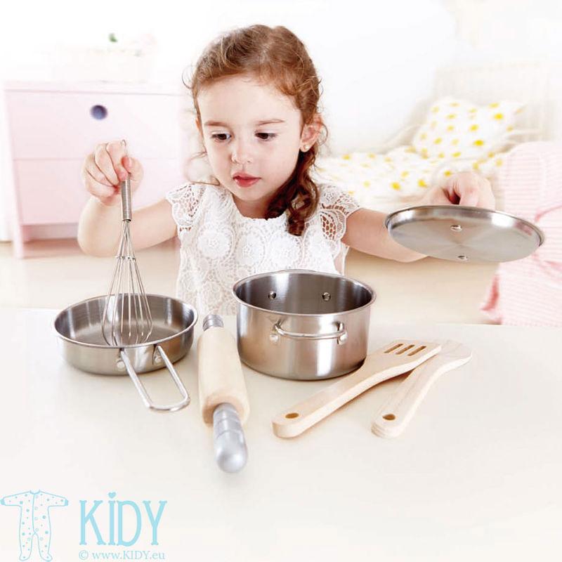 Virtuvės įrankių rinkinys 7 vnt (Hape) 2