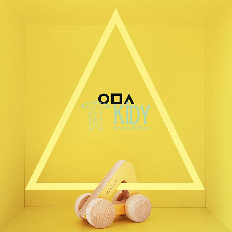 Medinė mašinėlė - trikampis ODA (Lullalove) 2