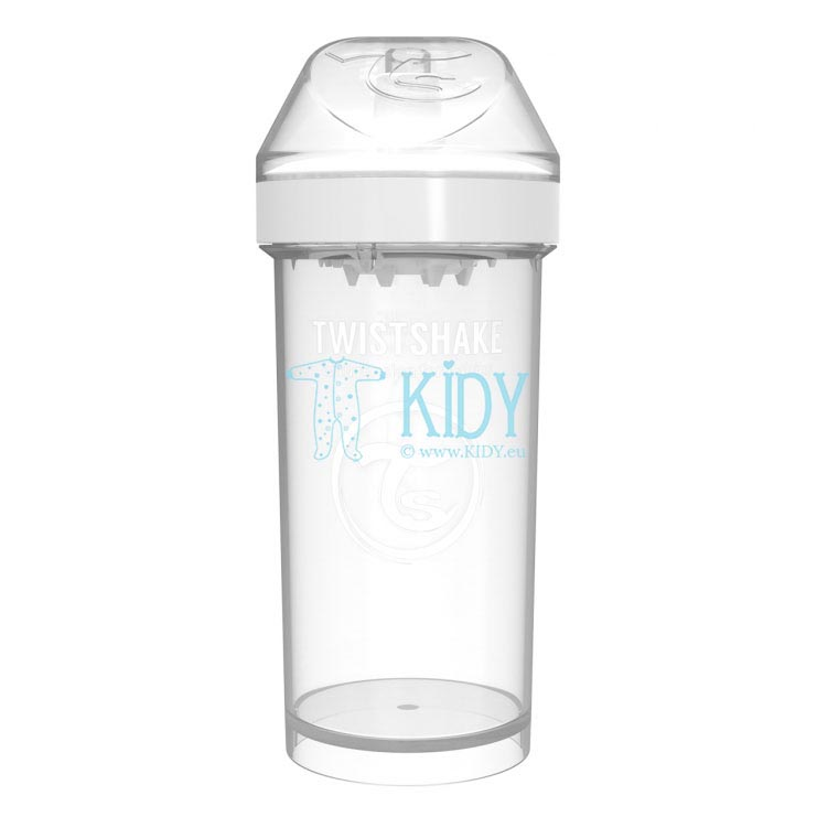WHITE KID SIPPY CUP