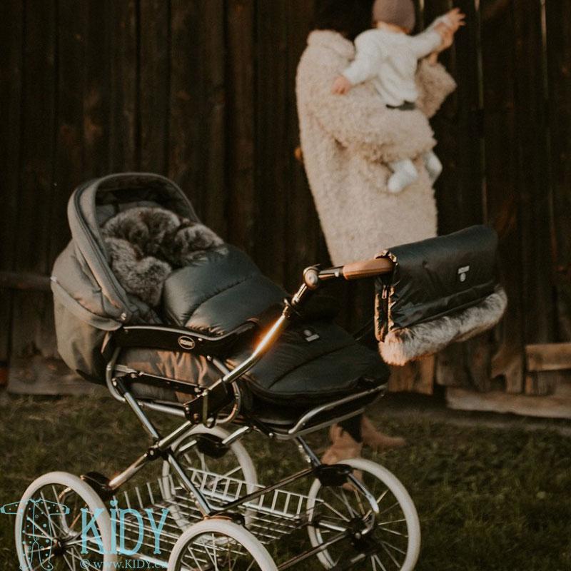 Vokelis į vežimėlį Black (MAKASZKA) 2