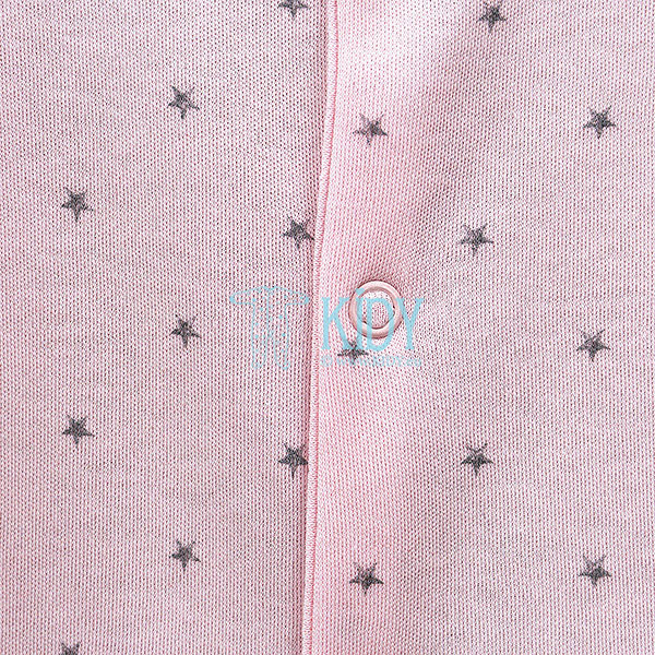 Pink BETSY sleepsuit