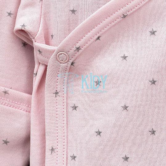 Розовый боди-кимоно BETSY