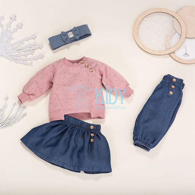 Rožinis džemperis PETIT LOU (Pinokio) 2