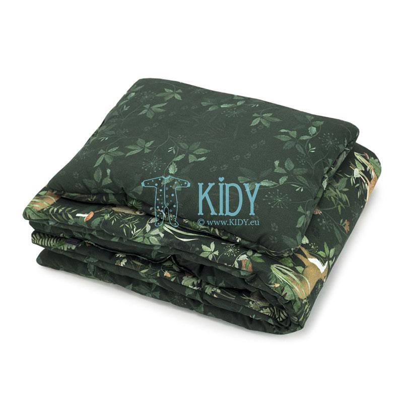 Patalynės komplektas Woodland: antklodė + pagalvė (MAKASZKA) 2