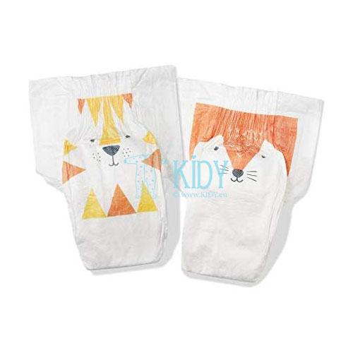Eko sauskelnės FOX & TIGER №4 kūdikiams (Kit & Kin) 2