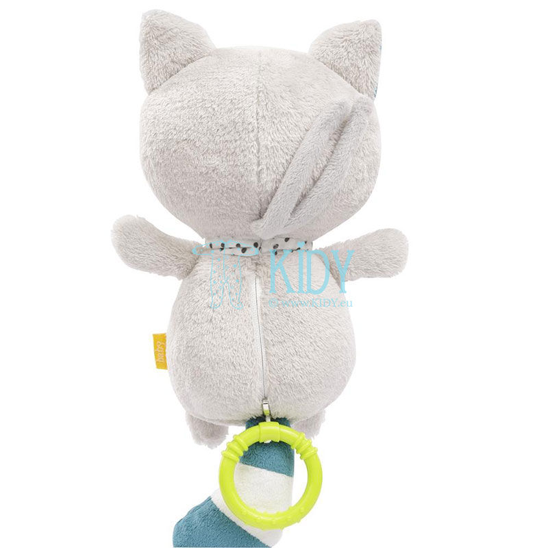 Minkštas muzikinis žaislas Cat (BabyFehn) 2