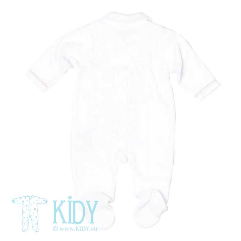 White sleepsuit ZOO (Babaluno) 2