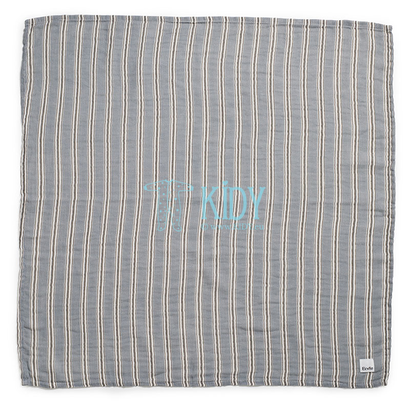 Bamboo muslin Sandy Stripe swaddle
