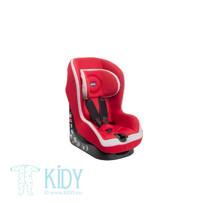 CHICCO automobilinė kėdutė Go - One (Gr.1) Red