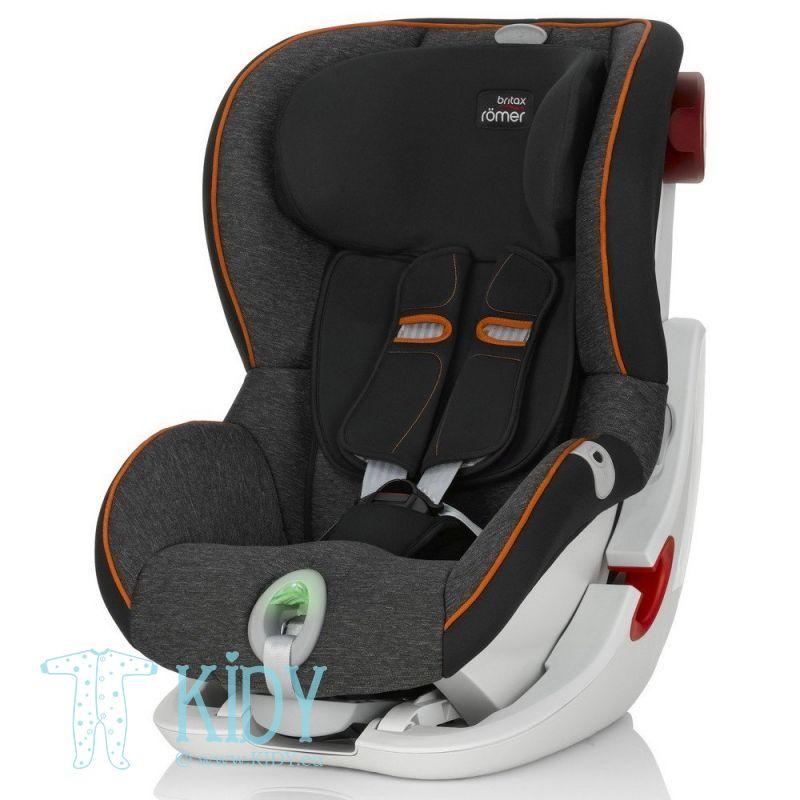 Car seat King II ATS Black Marble