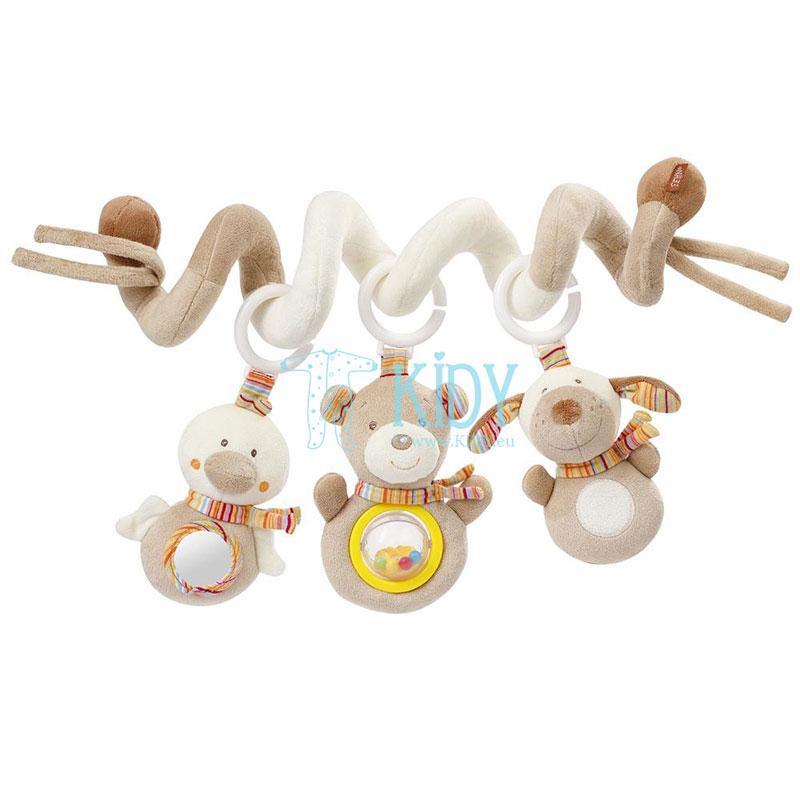 Ишрушка-спиралька Rainbow с погремушками