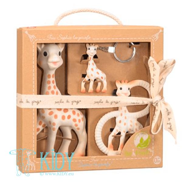 Rinkinys Trio SOPHIE la Girafe (Vulli)