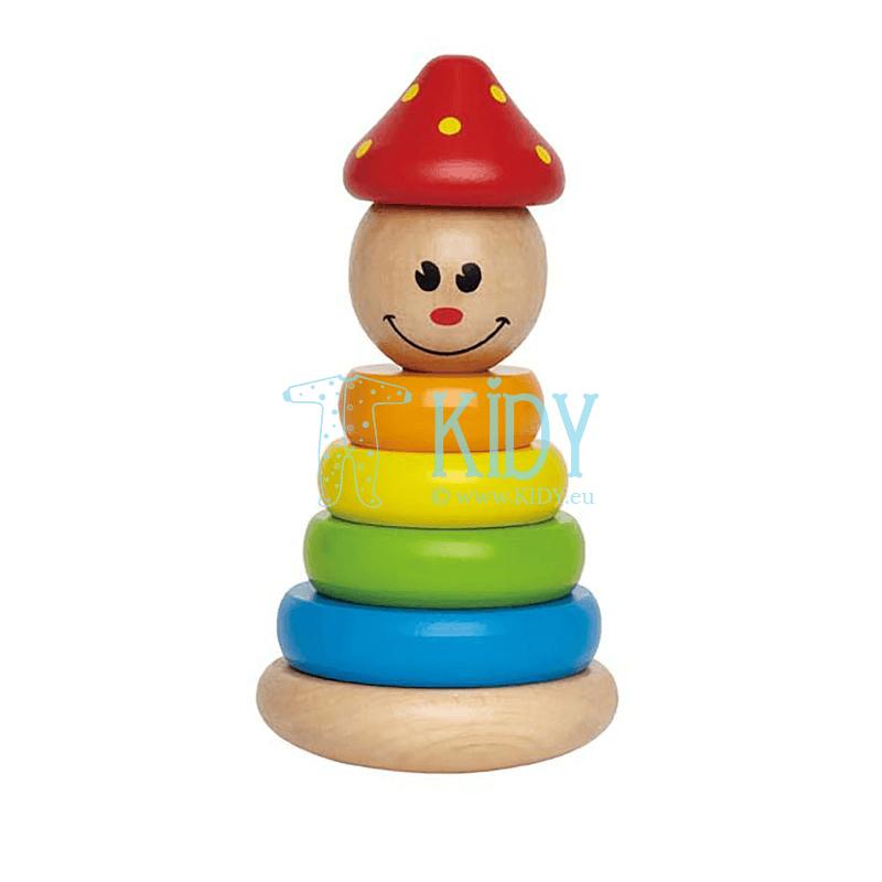 Medinis žaislas Klounas