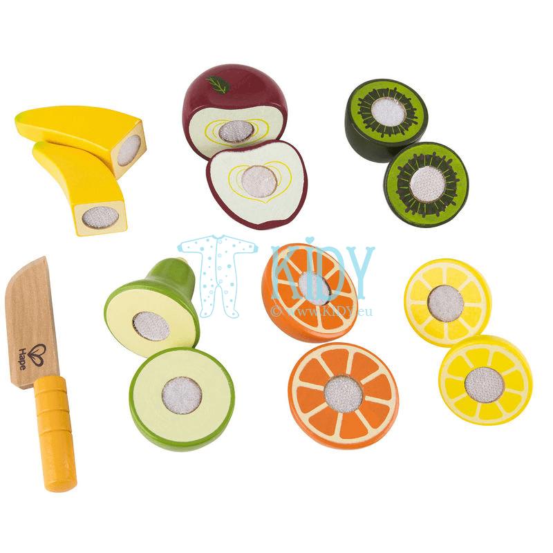 Žaislinis rinkinys Švieži vaisiai FRESH FRUIT (Hape)
