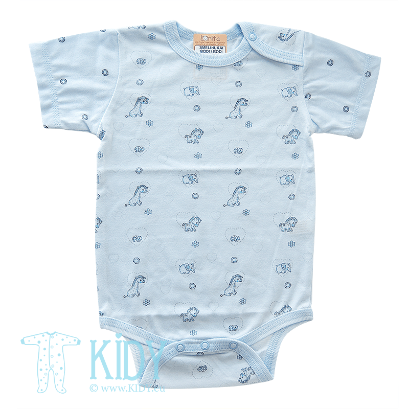 Blue bodysuit MINI ZOO