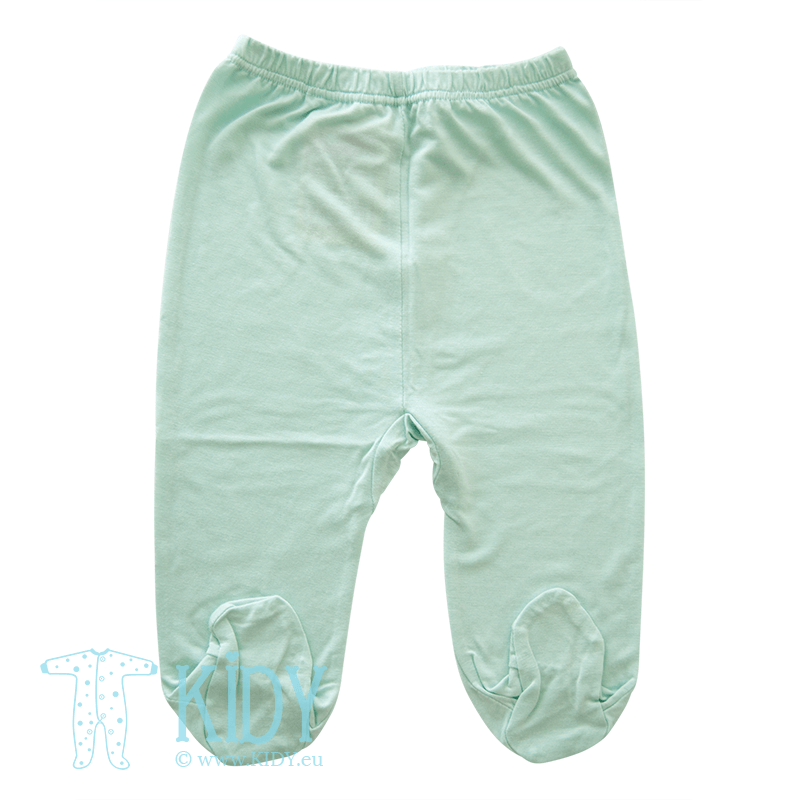 Green pants PIPSI KOALA with feet (Lorita)