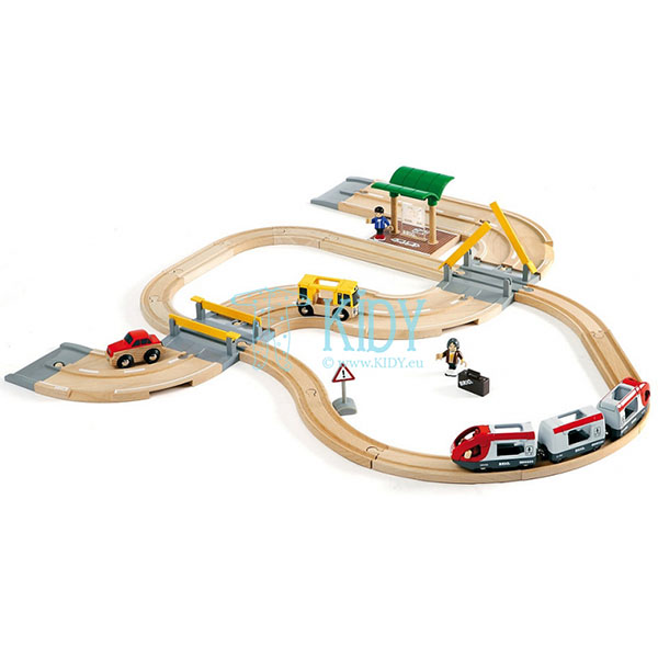 Rail & Road Travel Set (Brio)