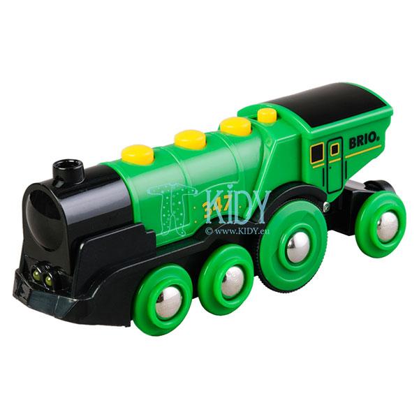 Большой зеленый локомотив (Brio)