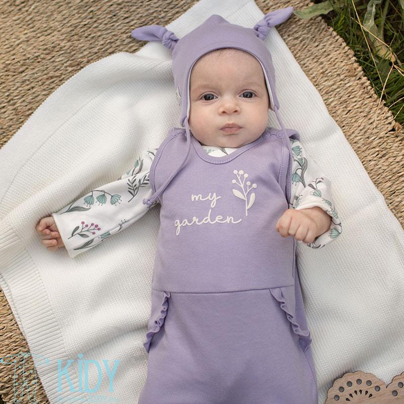 Фиолетовая шапочка MY GARDEN