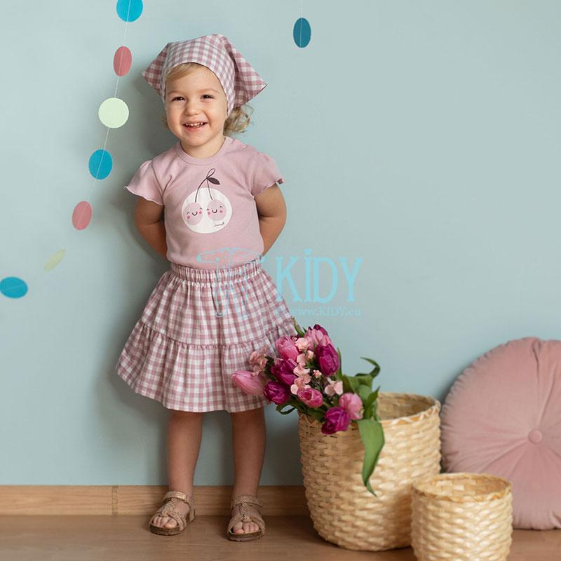 Rožinis sijonas SWEET CHERRY