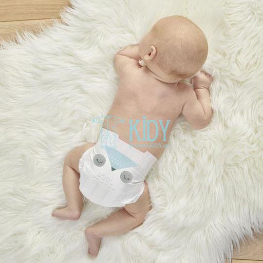 OWL & LAMB №1 eco diapers for newborns