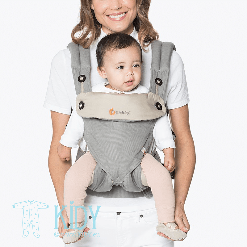 Baby carrier ALL POSITION 360 Grey