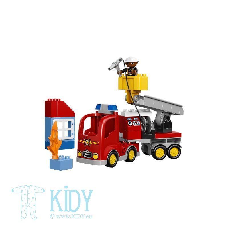 LEGO® DUPLO® Ugniagesių automobilis