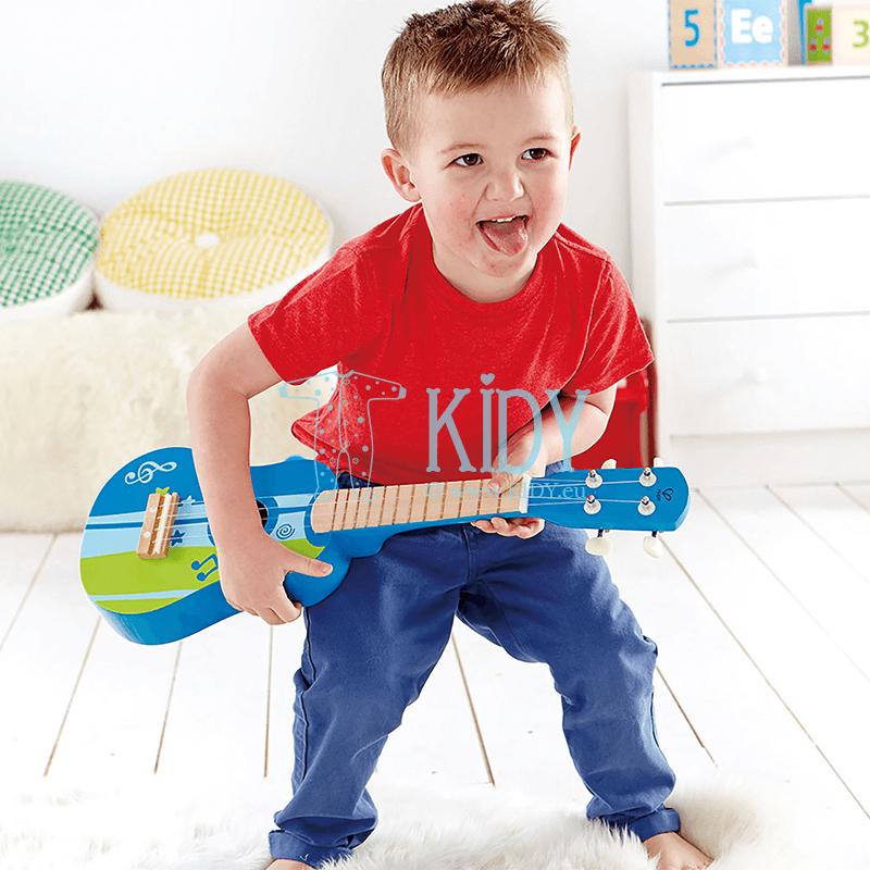 Mėlyna gitara (Hape) 3