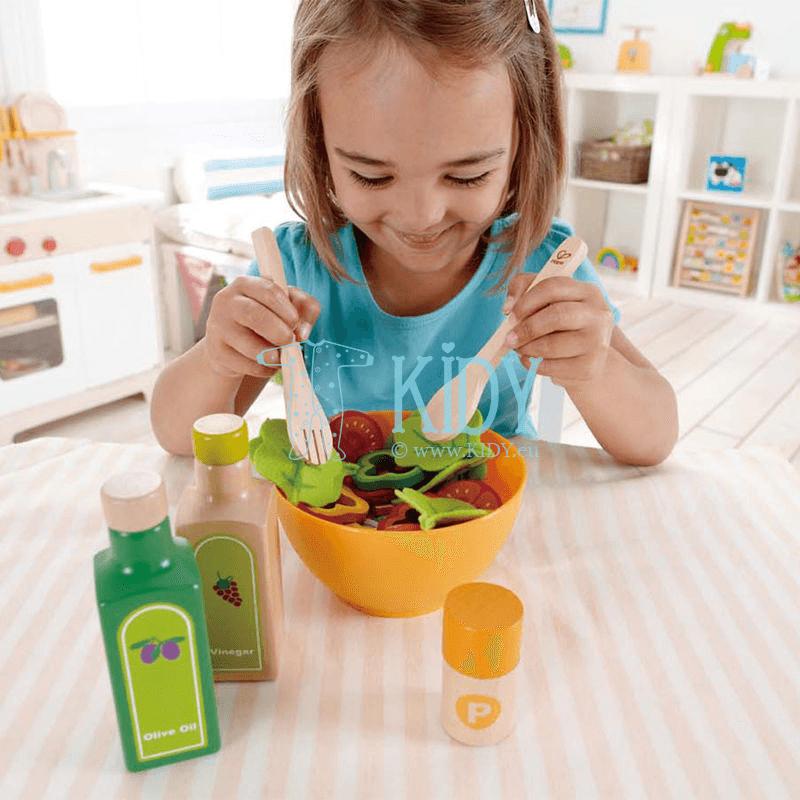 Žaislinis rinkinys sodo salotos GARDEN SALAD