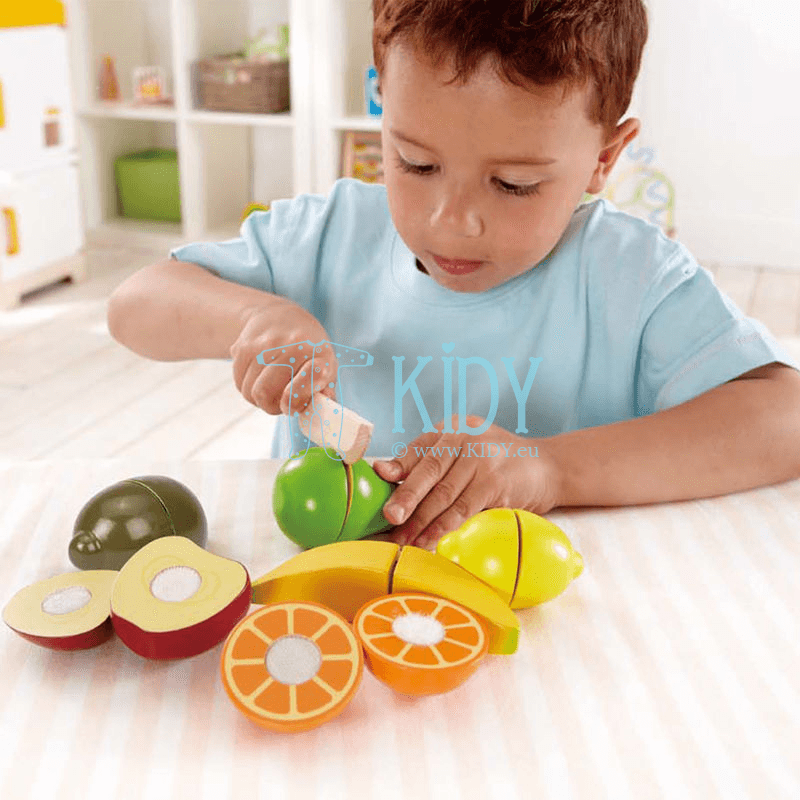 Žaislinis rinkinys Švieži vaisiai FRESH FRUIT (Hape) 3