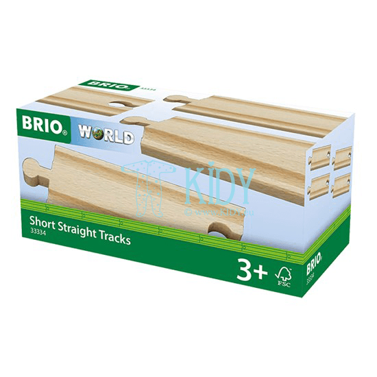Short Straight Tracks (Brio) 3