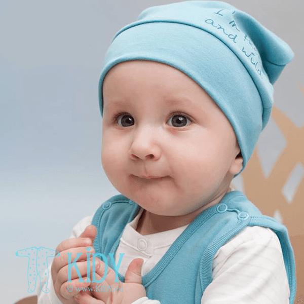 Žydra kepurė WILD BOY (Pinokio) 3