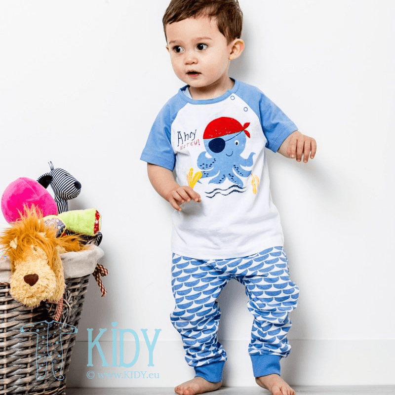 DEEP SEA FRIENDS set: T-shirt + pants