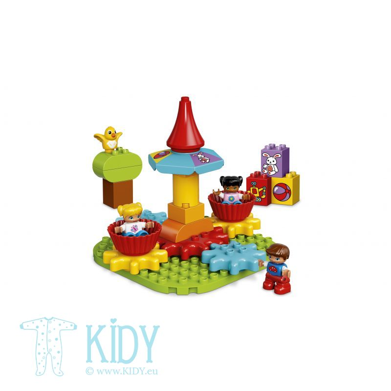 LEGO® DUPLO® Creative Play My First Carousel (LEGO) 3