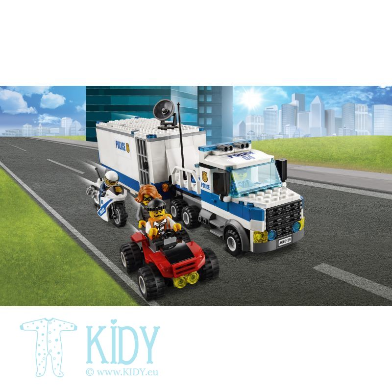 LEGO® City Police Mobile Command Center