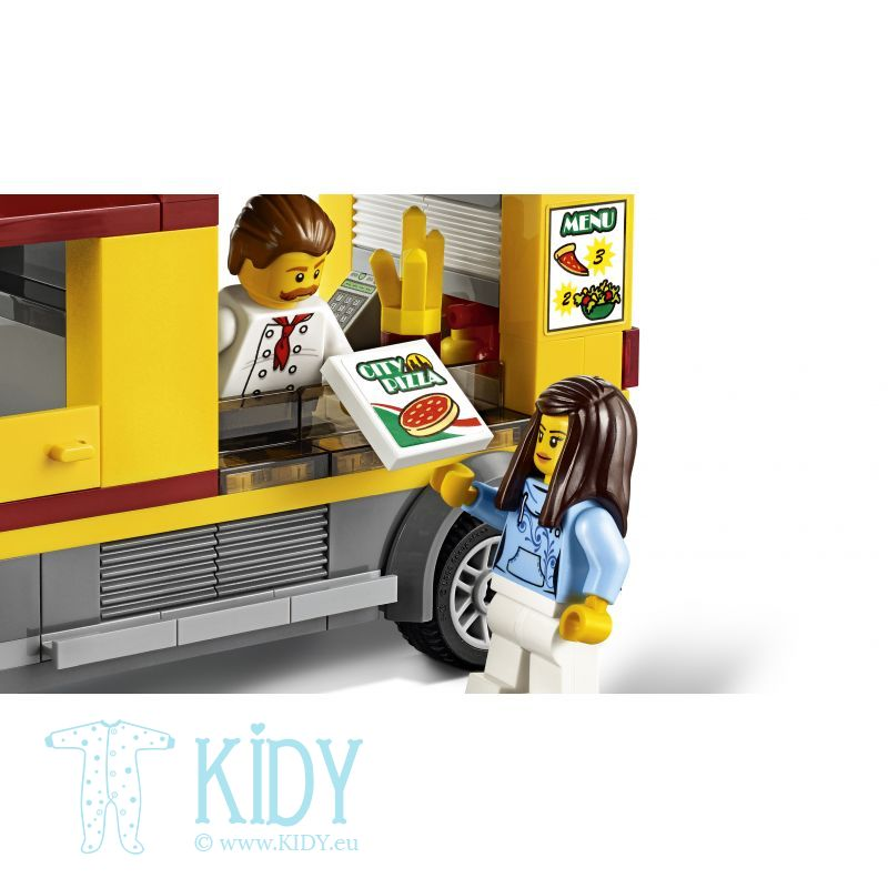 Фургон-пиццерия LEGO® City Great Vehicles Pizza Van
