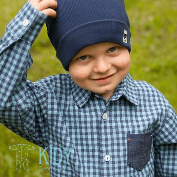 Синяя рубашка GARCON (Pinokio) 3