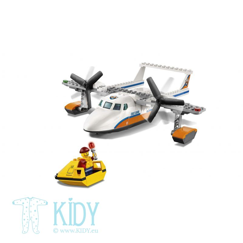 Морские спасатели LEGO City Coast Guard Sea Rescue Plane
