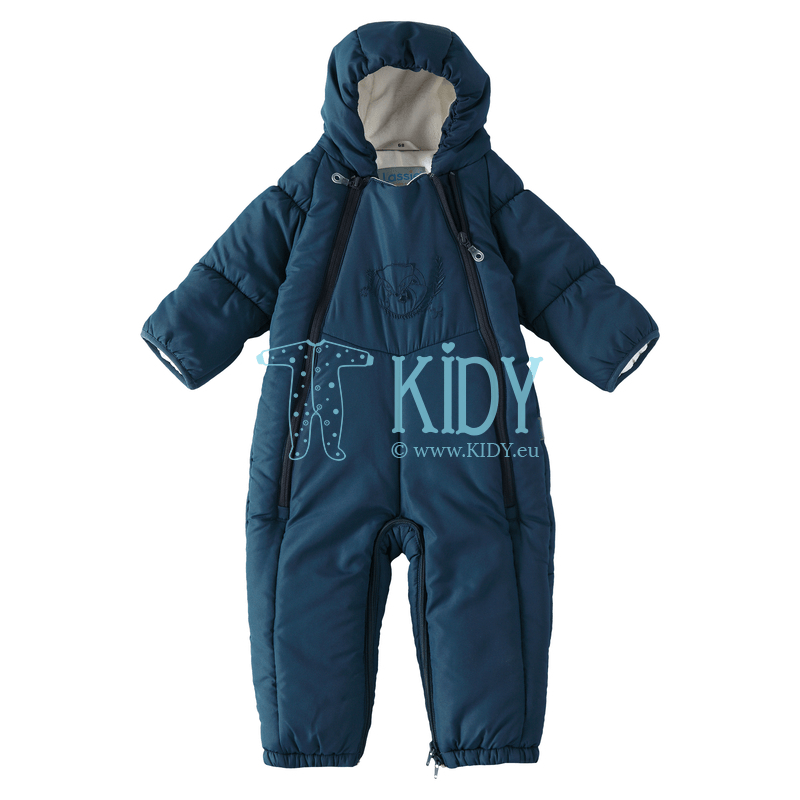 Navy FOX winter overall transformer with fold-over sleeve ends