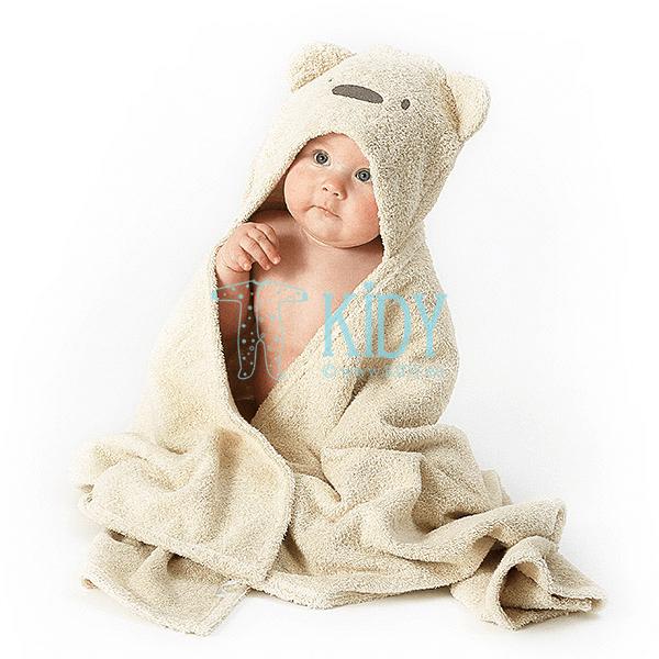 Brown hooded MESKUTIS towel (Lorita) 3
