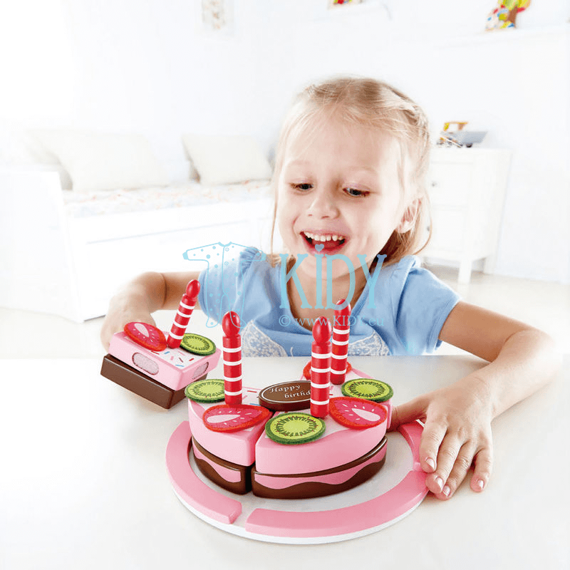 Playset Double Flavored Birthday Cake (Hape) 3